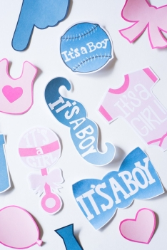 It's A Boy & Girl Cards