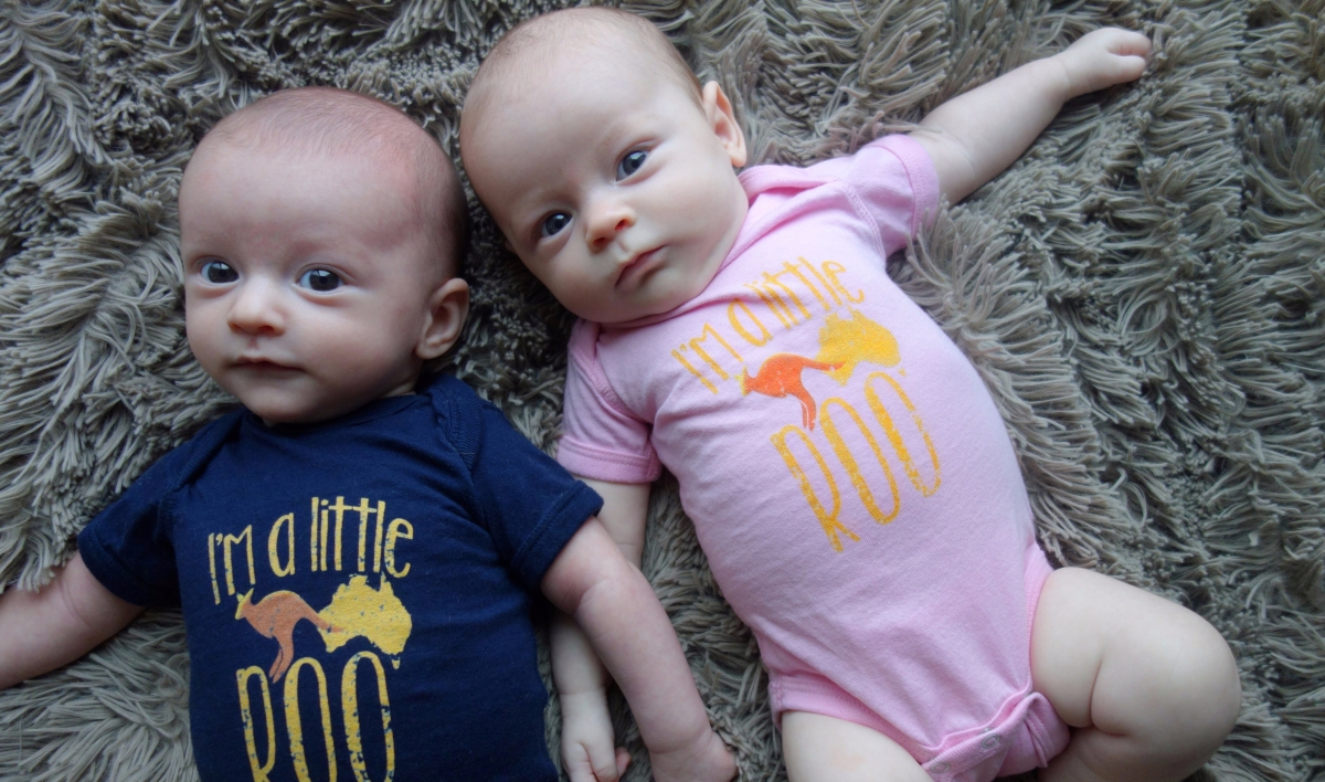 Our Twins: A Three Month Update