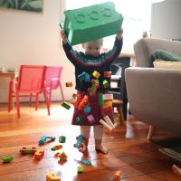 Why do toddlers always knock things over?